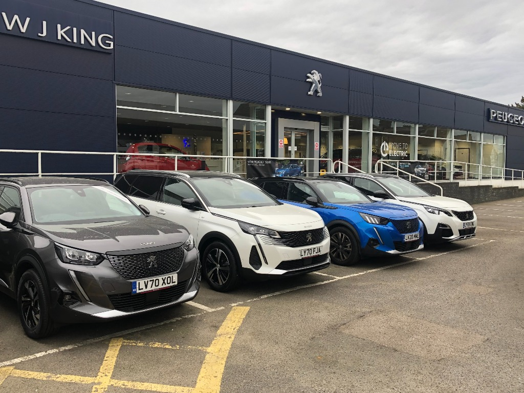 WJ King Peugeot Sidcup - Peugeot Dealership in Sidcup