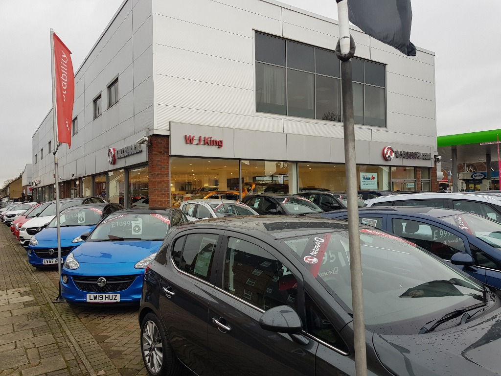 WJ King Vauxhall Bromley - Vauxhall Dealership in Bromley