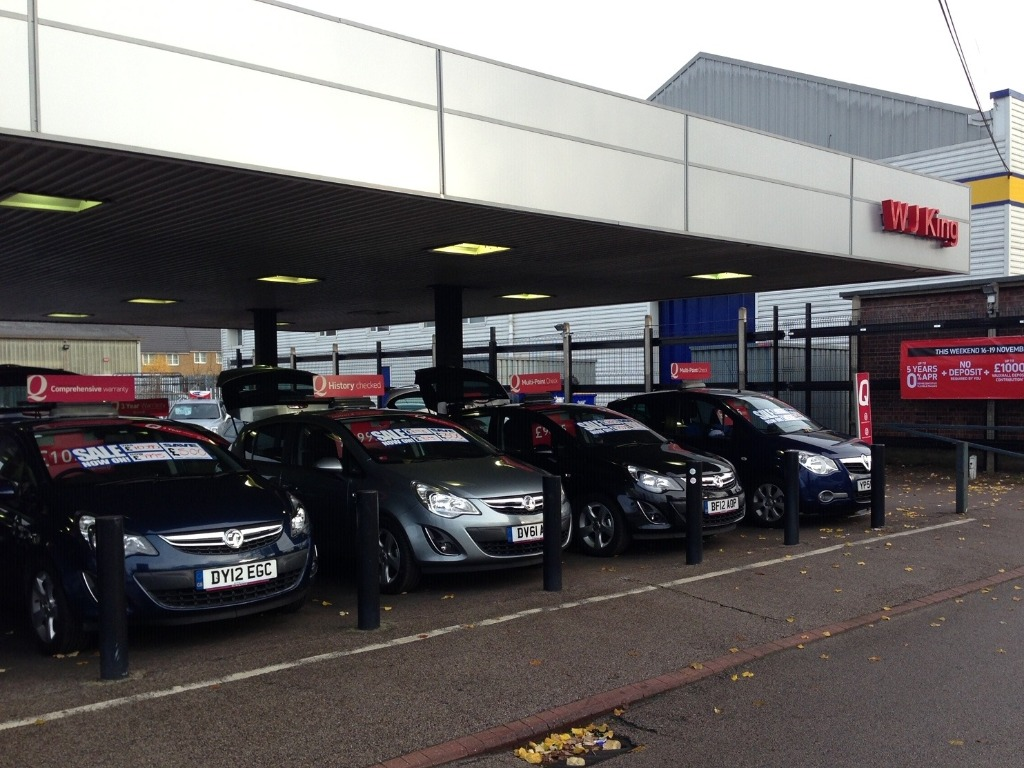 WJ King Vauxhall Dartford - Vauxhall Dealership in Dartford