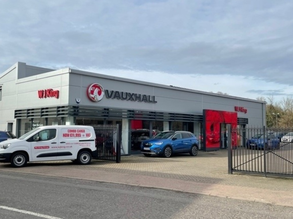 WJ King Vauxhall Rochester - Vauxhall Dealership in Rochester
