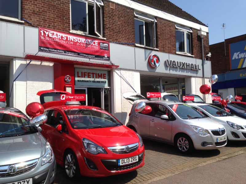 WJ King Vauxhall Welling - Vauxhall Dealership in Welling