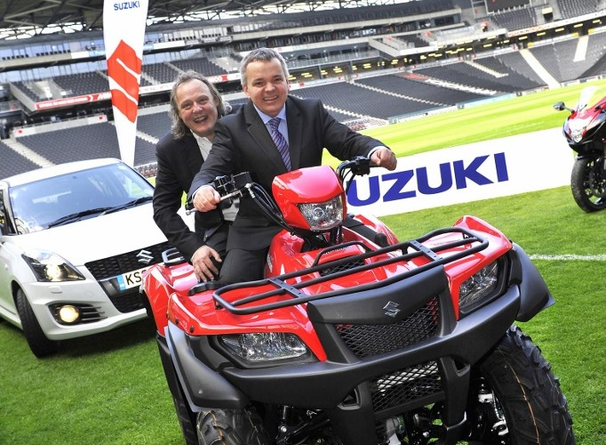 Suzuki GB PLC an official title partner to the MK Dons