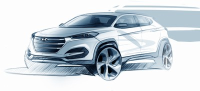 Hyundai Motor shows first design impression of All-New Tucson