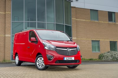 Vauxhall shows off world's fastest signwriting on new Vivaro