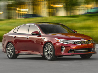New Kia Optima in global debut at the New York International Auto Show