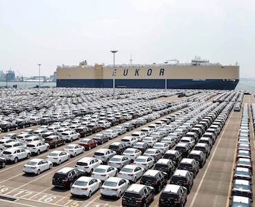 Kia Motors vehicle exports from Korea to surpass 15 million units in June
