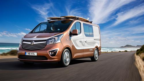 VAUXHALL PRESENTS BRIT-BUILT VIVARO SURF CONCEPT AT FRANKFURT