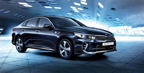 HIGH-POWERED KIA OPTIMA GT IN DEVELOPMENT FOR EUROPE