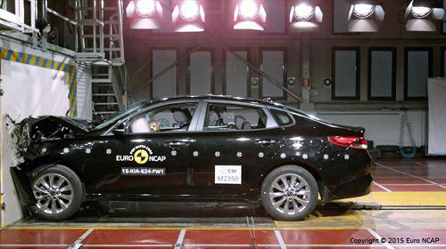 FIVE-STAR SAFETY RATINGS FOR ALL-NEW KIA OPTIMA AND SPORTAGE