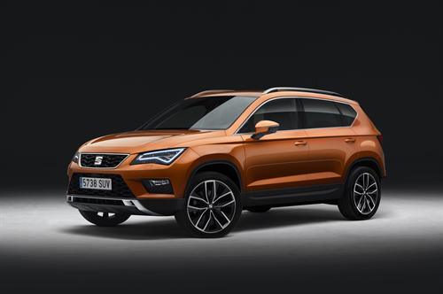 SEAT UNVEILS 'ATECA' - ITS FIRST SUV - STYLE, DYNAMICS AND UTILITY FOR THE URBAN ADVENTURE