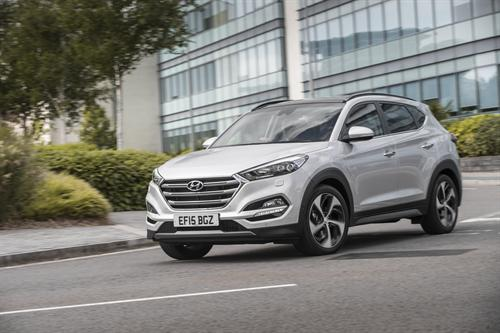 TUCSON ADDS 1.7-LITRE HIGH-POWER DIESEL WITH 7-SPEED DCT TO LINE-UP