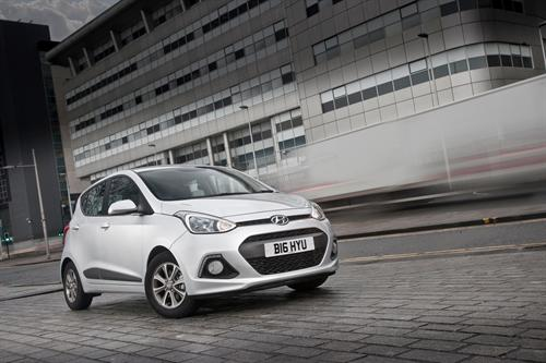 HYUNDAI MOTOR NAMED 'MOST IMPROVED FLEET MANUFACTURER' IN FLEET NEWS AWARDS 2016