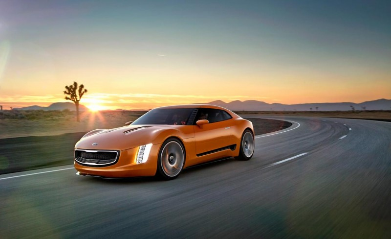Kia shocks Motor City with rear-drive GT4 Stinger concept