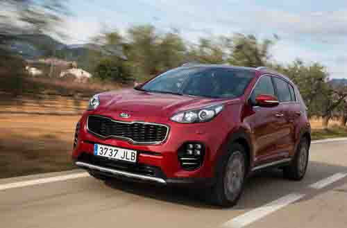 SOARING SPORTAGE LEADS KIA'S CHARGE TO BEST EVER MARCH