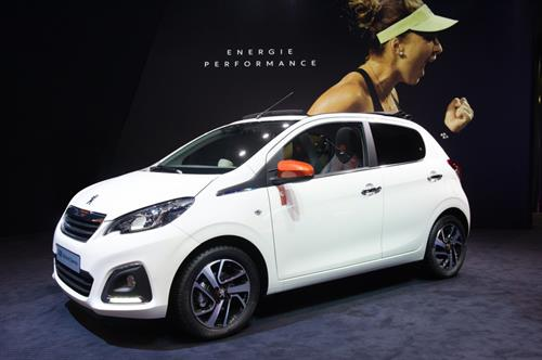 PEUGEOT SERVES UP NEW 108 TOP! AND 208 ROLAND GARROS SPECIAL EDITIONS PLUS A SPORTY NEW 108 GT LINE MODEL
