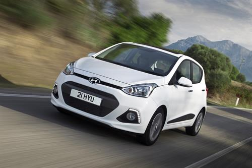 HYUNDAI i10 NAMED 'BEST CITY CAR' IN FLEET WORLD HONOURS