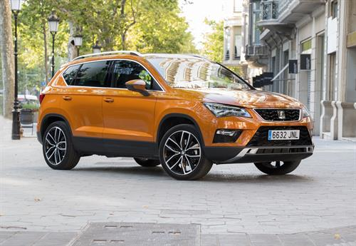 SEAT ATECA SETS OFF ON EXTENSIVE UK ROAD TRIP
