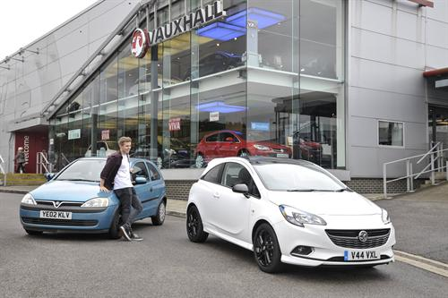 VAUXHALL'S SCRAPPAGE SCHEME OFFERS UP TO £2,000 TOWARDS A NEW CAR