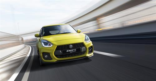 GLOBAL PREMIERE OF LIGHTER, QUICKER NEW SUZUKI SWIFT SPORT AT FRANKFURT MOTOR SHOW
