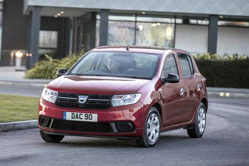 FIVE YEARS ON - DACIA SANDERO STILL THE MOST AFFORDABLE CAR IN THE UK