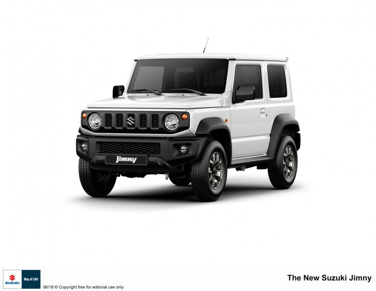 SUZUKI JIMNY – THE ONE-AND-ONLY, SMALL, LIGHTWEIGHT 4WD VEHICLE