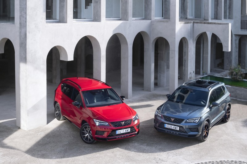 THE NEW CUPRA ATECA: THE MOST CONTEMPORARY INTERPRETATION OF SPORTINESS