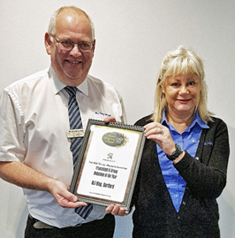 WJ King Dartford Bodyshop Award