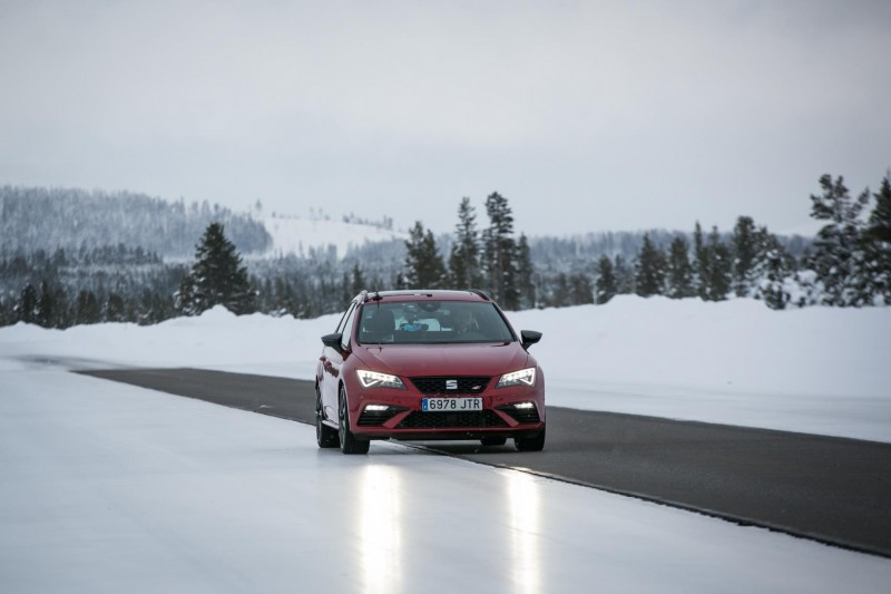 SEAT VEHICLES AND ENGINEERS TAKE ON EXTREME ARCTIC CONDITIONS