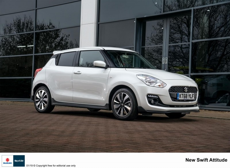 KEEPING A POSITIVE ATTITUDE: SUZUKI'S LATEST SPECIAL EDITION SWIFT