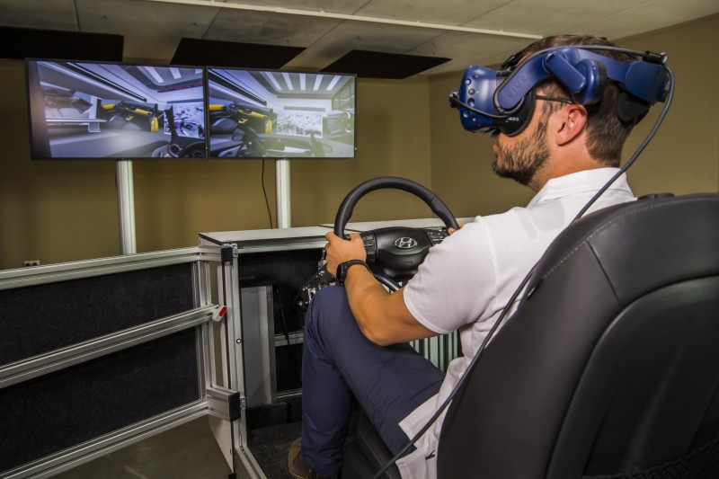 FOR HYUNDAI'S DESIGNERS, VIRTUAL REALITY PLAYS A VITAL ROLE TO DEVELOP THE COMPANY'S LATEST CARS