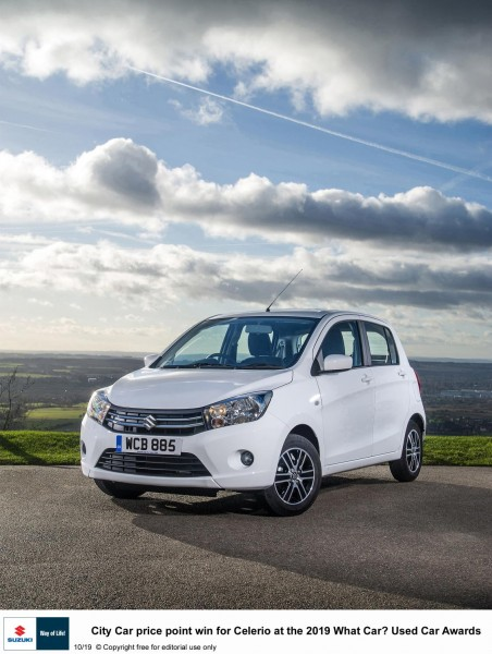 PRICE POINT WIN FOR CELERIO AT THE WHAT CAR? USED CAR AWARDS
