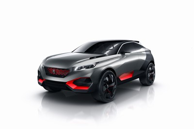 Peugeot Quartz concept: an SUV for the future