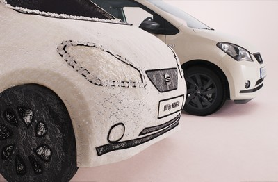 SEAT reveals world's first fabric car constructed from lace