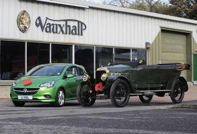 Vauxhall honours War dead with remembrance photography