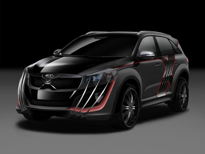 'X-Men' inspired Kia Sorento to debut at the Australian Open 2015