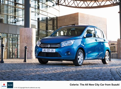 Celerio - the all new city car from Suzuki