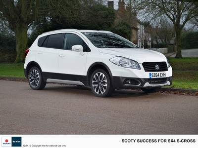 SCOTY success for SX4 S-Cross