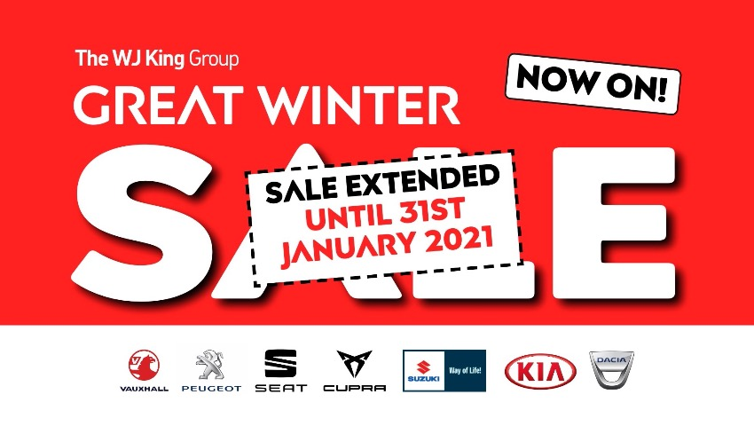 THE WJ KING GREAT WINTER SALE
