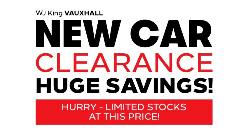 Vauxhall  New Car Offer